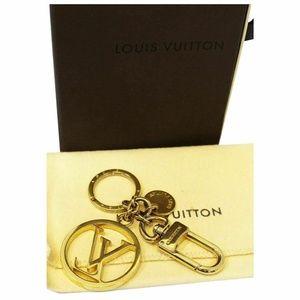 LOUIS VUITTON Bag Charm LV Circle Key Holder